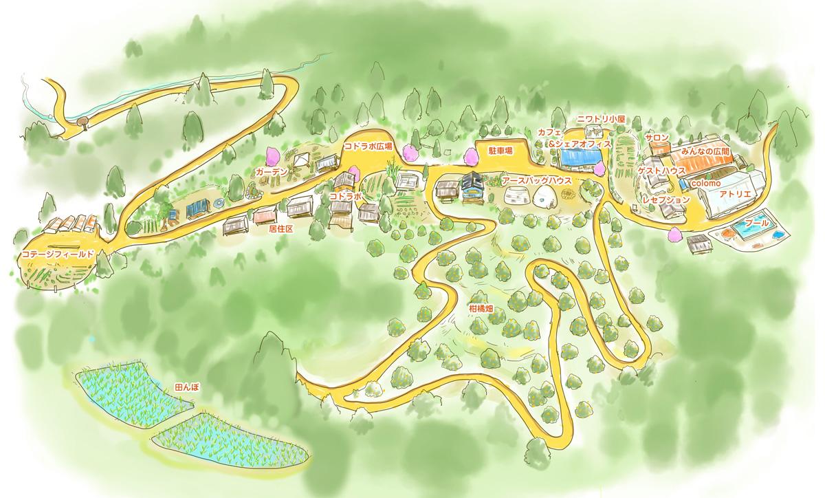 サイハテ村フィールドマップ